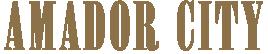 Amador City ~ California Gold Country Logo